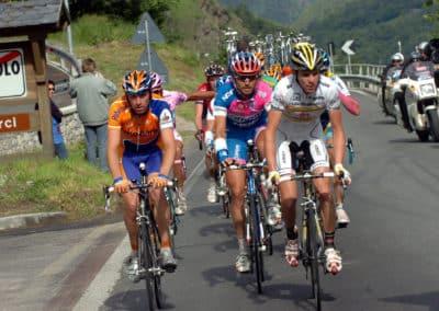 © Sirotti - 2008, Giro d'Italia, tappa 20 Rovetta - Tirano, Rabobank, Saunier Duval, Lampre, Menchov Denis, Riccò Riccardo, Bruseghin Marzio