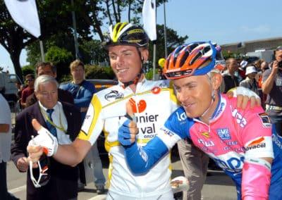 © Sirotti - 2008, Tour de France, tappa 01 Brest - Plumelec, Lampre, Saunier Duval, Cunego Damiano, Riccò Riccardo, Brest