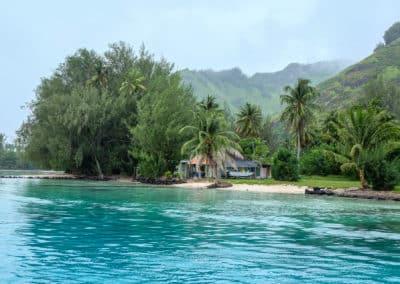 L'île de Moorea regorge de petites plages privées.