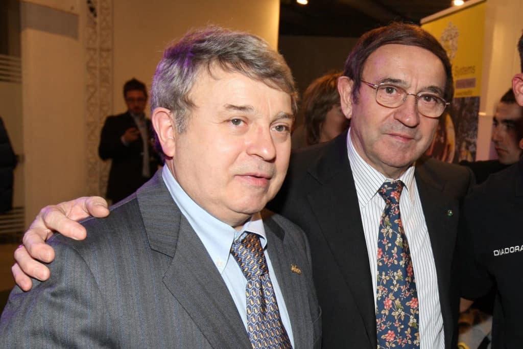 Paolo et Ernesto Colnago