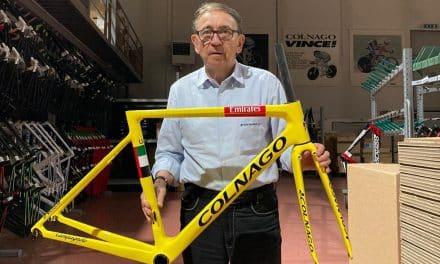 L'histoire du Colnago V3RS jaune de Pogacar