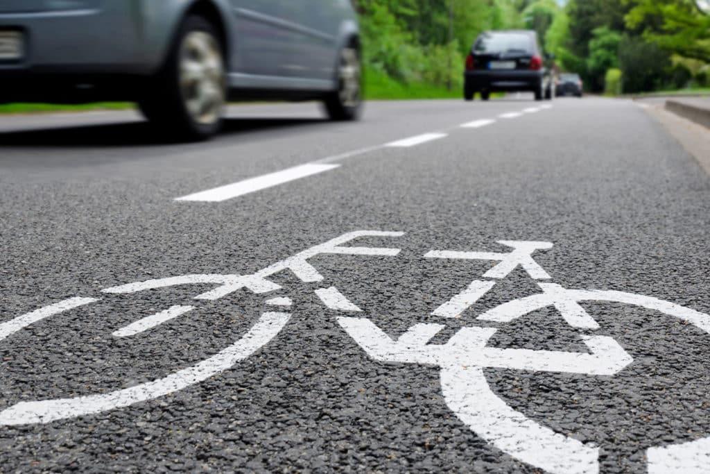 La faute du cycliste
