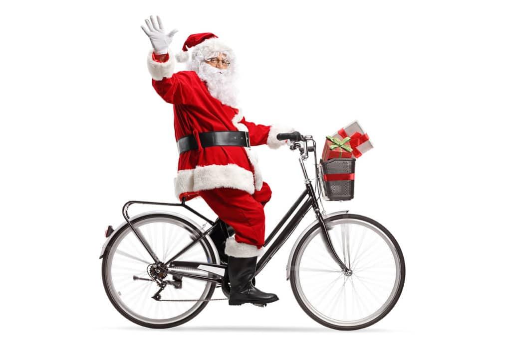 Père Noel Top Vélo