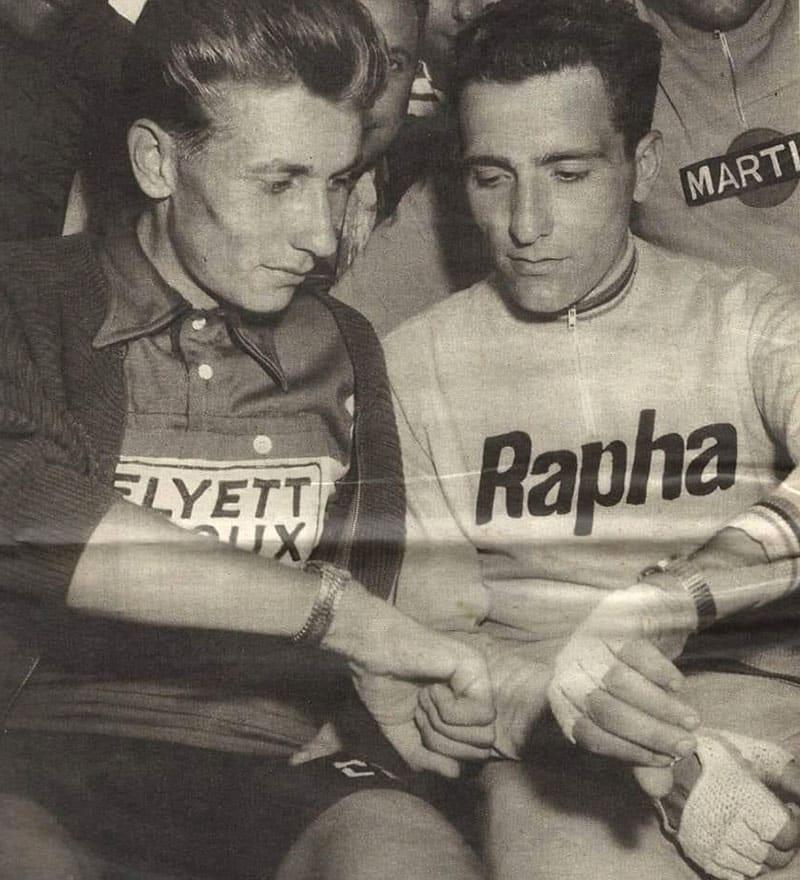 Jacques Anquetil et Roger Rivière