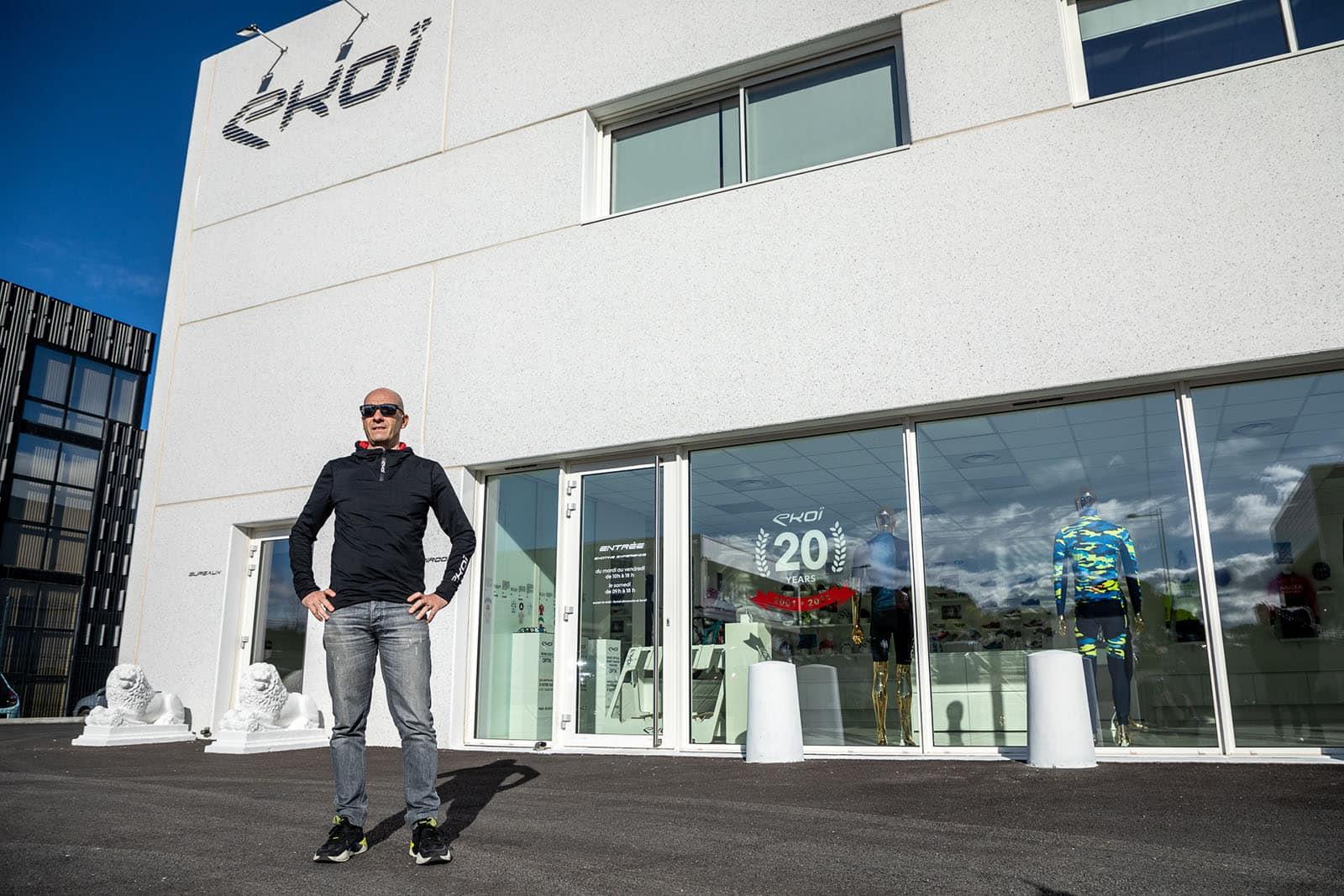 Jean-Christophe Rattel - Fondateur de la marque Ekoï