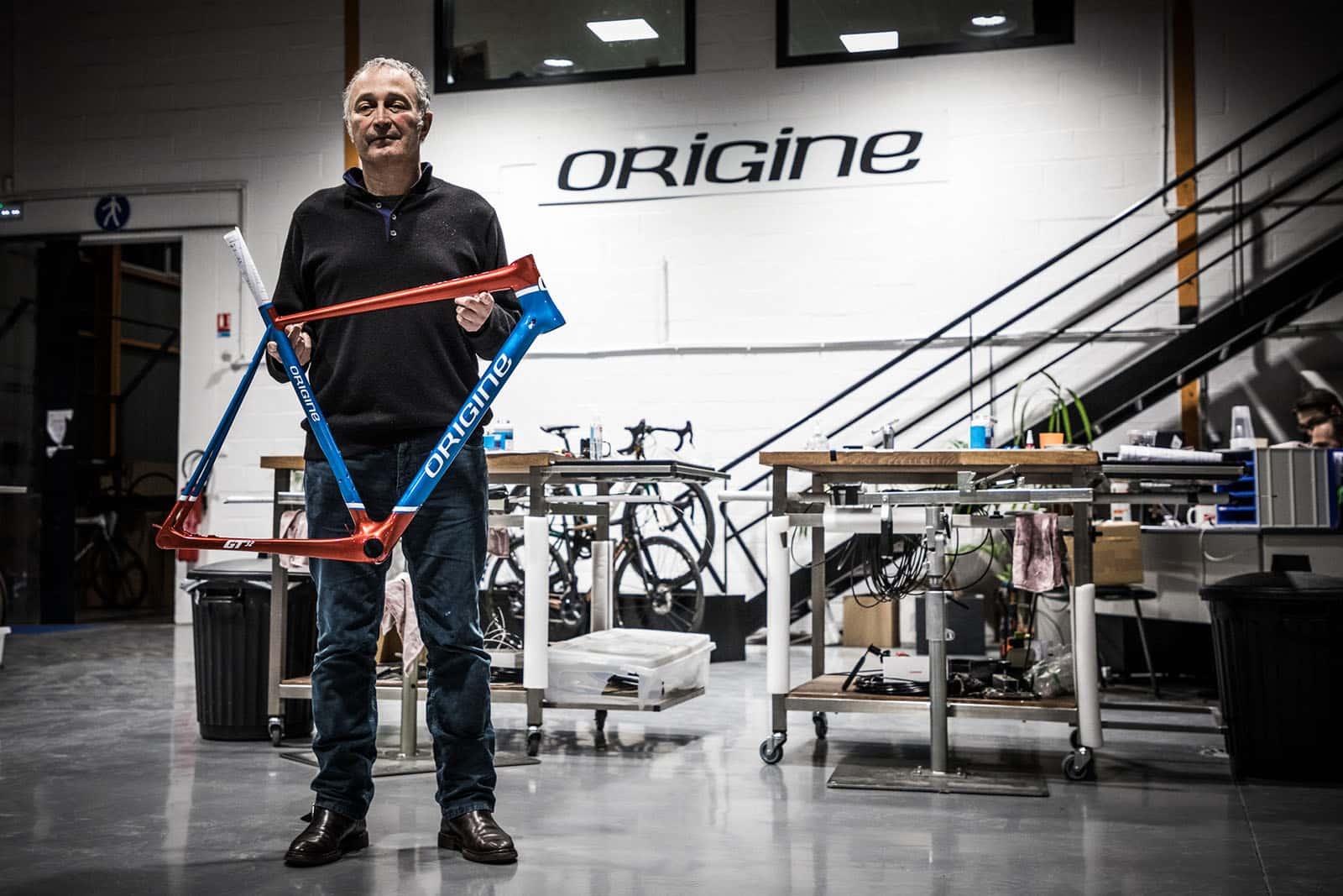 Yves, Directeur Général d'Origine Cycles.