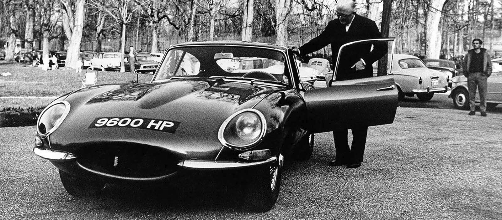 Jaguar E-Type Genève 15 mars 1961