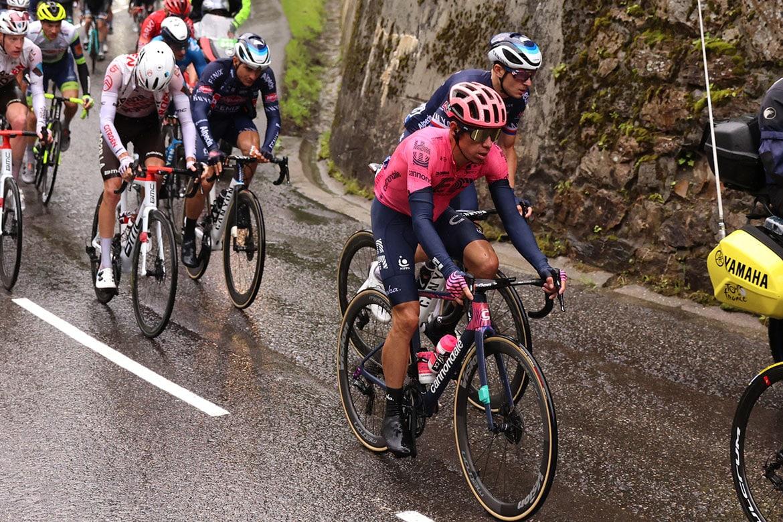 Tour de France 2021 - 108th Edition - 9th stage Cluses - Tignes 144,9 km - 04/07/2021 - Rigoberto Uran (COL - EF Education - Nippo) - photo Kei Tsuji/BettiniPhoto©2021