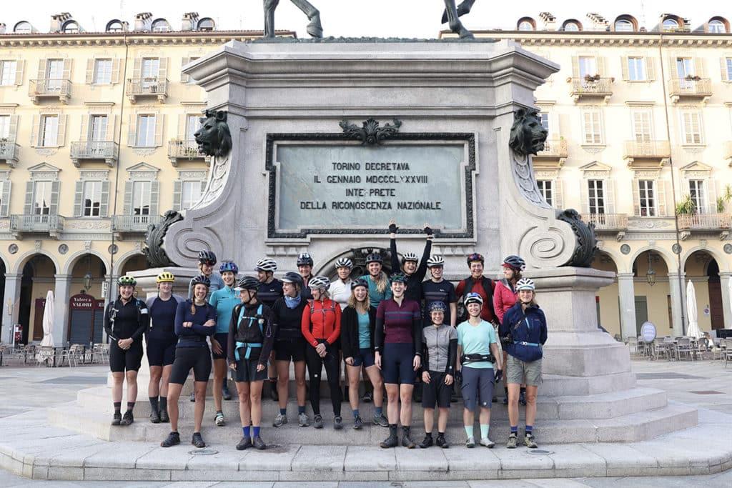 Un rallye Turin-Nice réservé aux femmes avec Lael Wilcox!