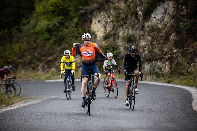 La grimpée Fausto Coppi